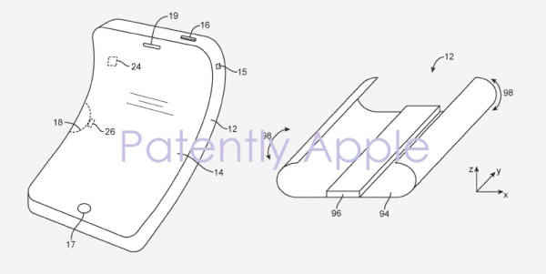 Apple Wins a Patent for a Flexible Device / Display that Covers a Possible Future Apple Watch
