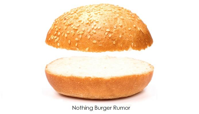 21 Nothing Burger Rumor