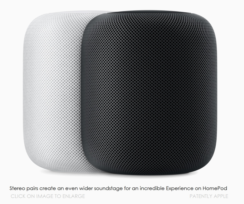3 Apple Homepod wht blk PAIR