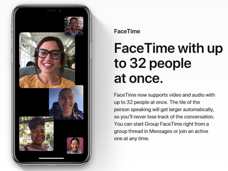 4 FaceTime  Group