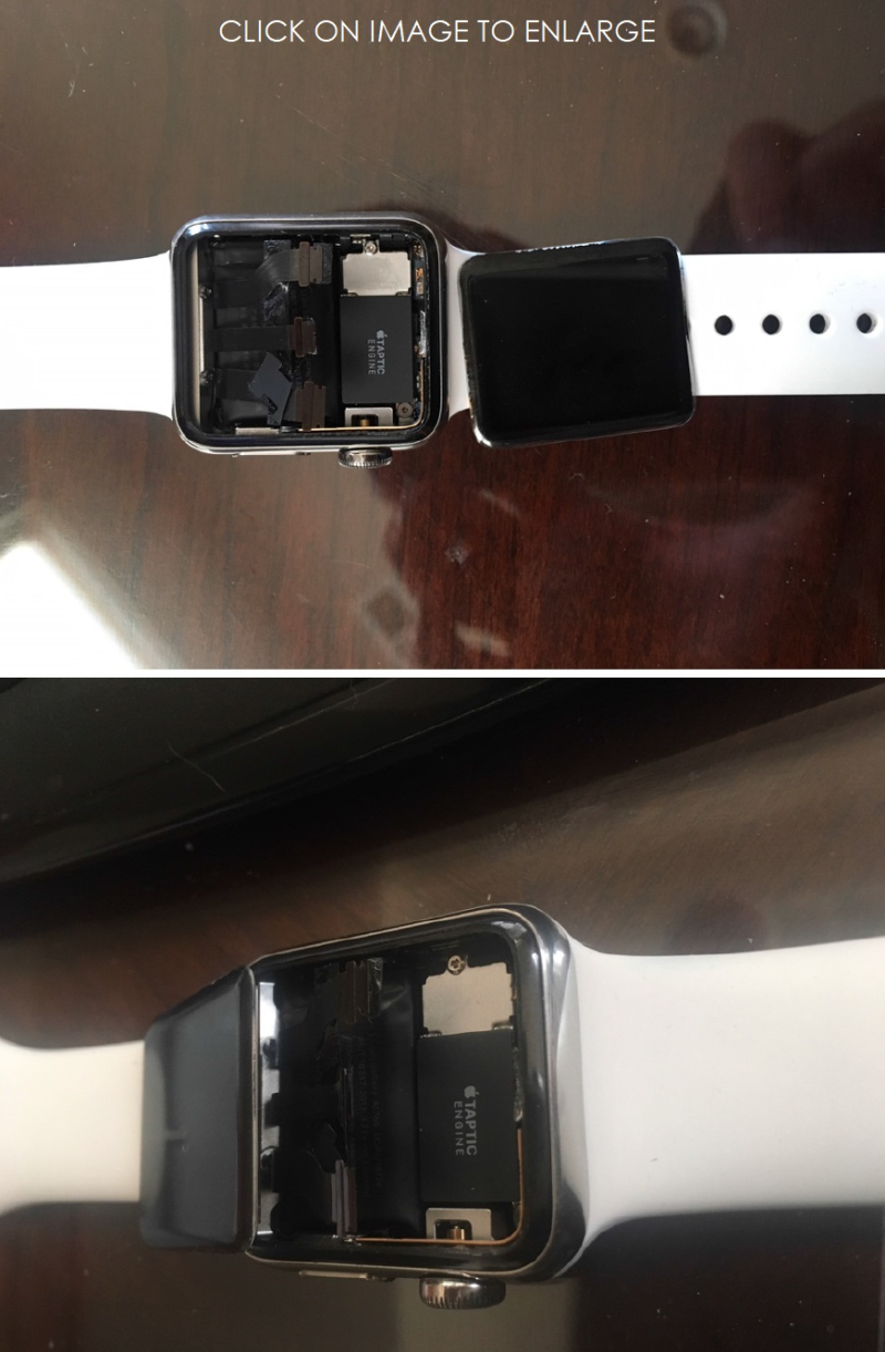3 X double photo of Apple Watch found in Class Action June 2018