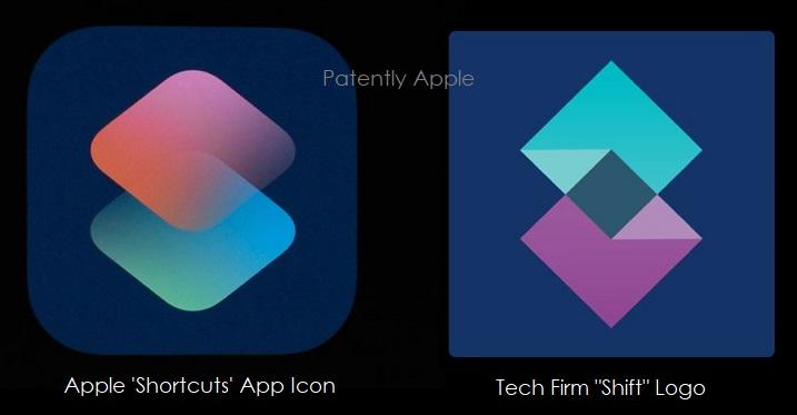 2 X Apple icon for Shortcut vs. Shift