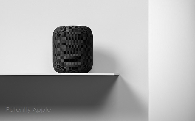 photo image Apple was granted a HomePod Patent this week covering Acoustic Change Direction