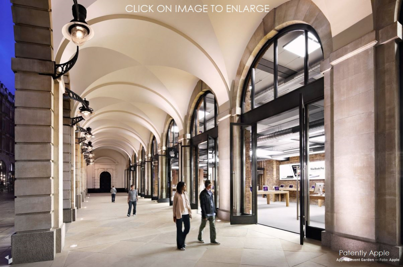 5 X apple store covent garden uk closing for renovations