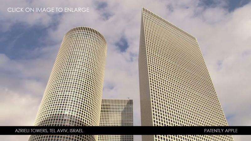 1 X cover Azrieli Towers  Tel Aviv  Israel  future apple store