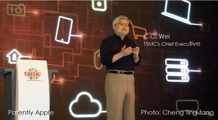 1 x tsmc C.C. Wei