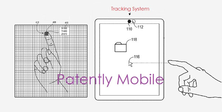 photo image Microsoft won a Patent for a Future Surface Tablet that could support Touchless Input & Recognize hand Gestures
