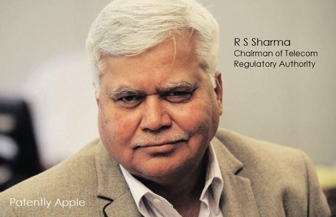 1 X coverJPEG R S SHARMA INDIA TELECOM REGULATORY AUTHORITY