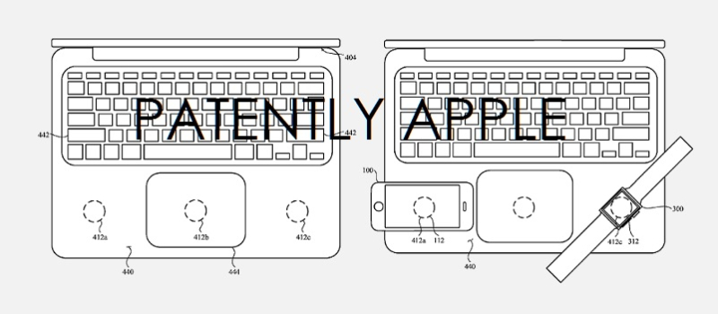 2x wireless charging on macbooks