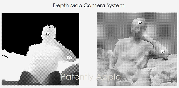 1 X Cover Apple Granted Patent for Depth Mapping body parts