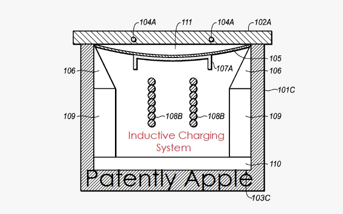 1 cover unique inductive charging patent
