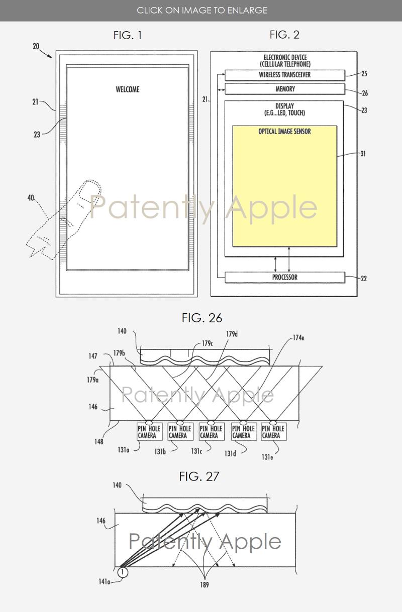 2 fingerprint scanner  3d scanner under the display