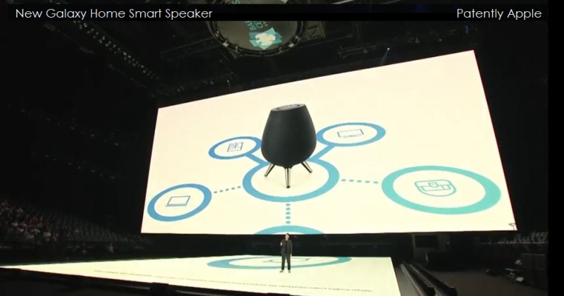 9.1 galaxy home smart speaker with bixby