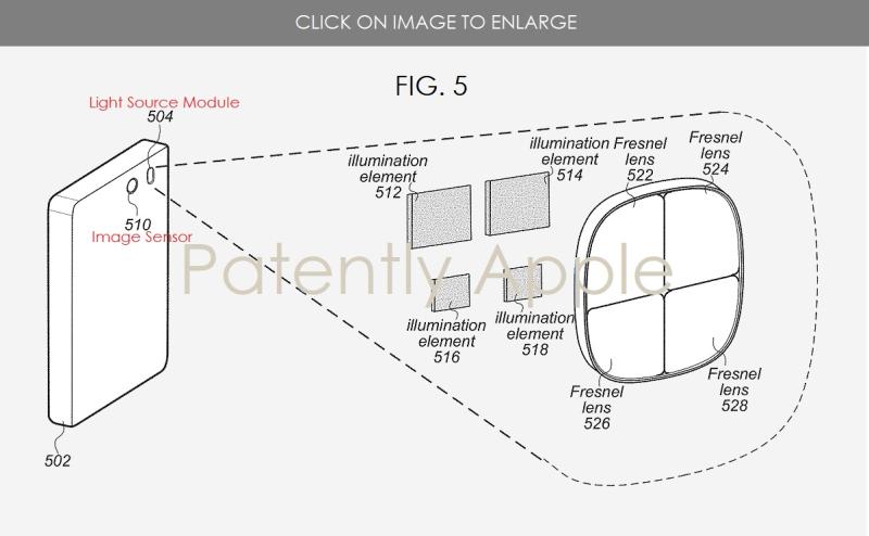 2 Apple patent fig. 5 Fresnel Lens