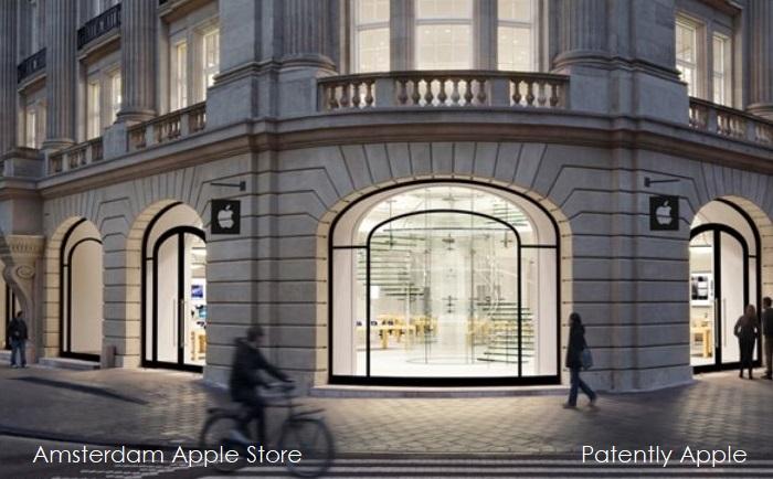 1 X Apple store Amsterdam