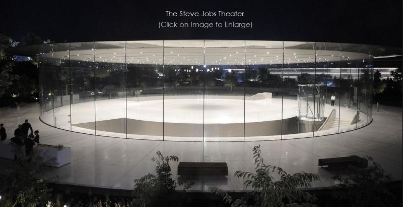 1 X Steve Jobs Theater