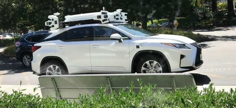 1 X - Apple Autonomous Lexus Vehicle