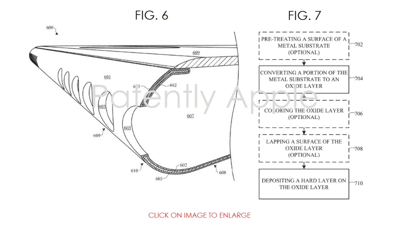 3 X cover apple patent on finishes on iphone