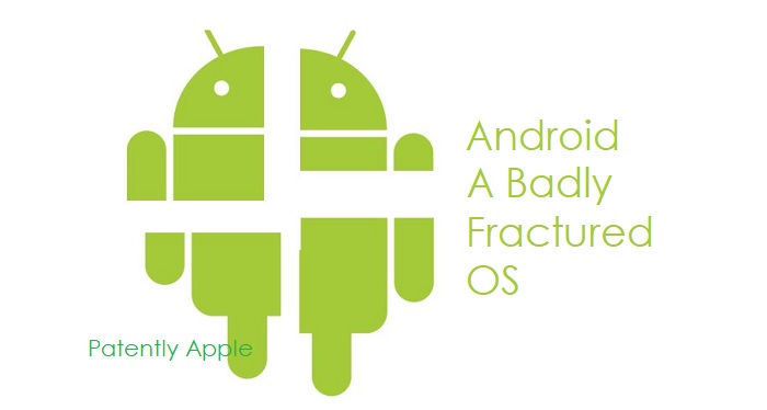 1 X fracutured Android