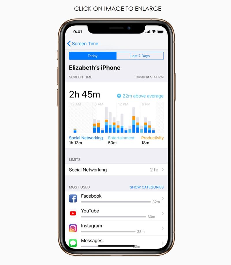 6 - ios12 iphone xs screen time