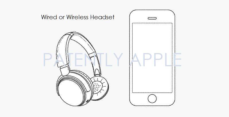 4 Apple over-ear headphones patent figure