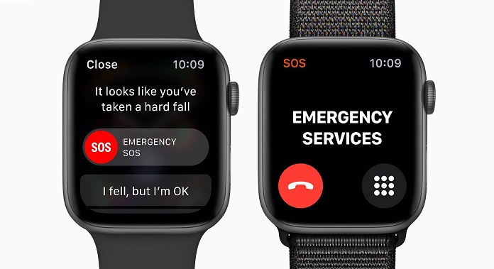 Risultati immagini per apple watch fall detection