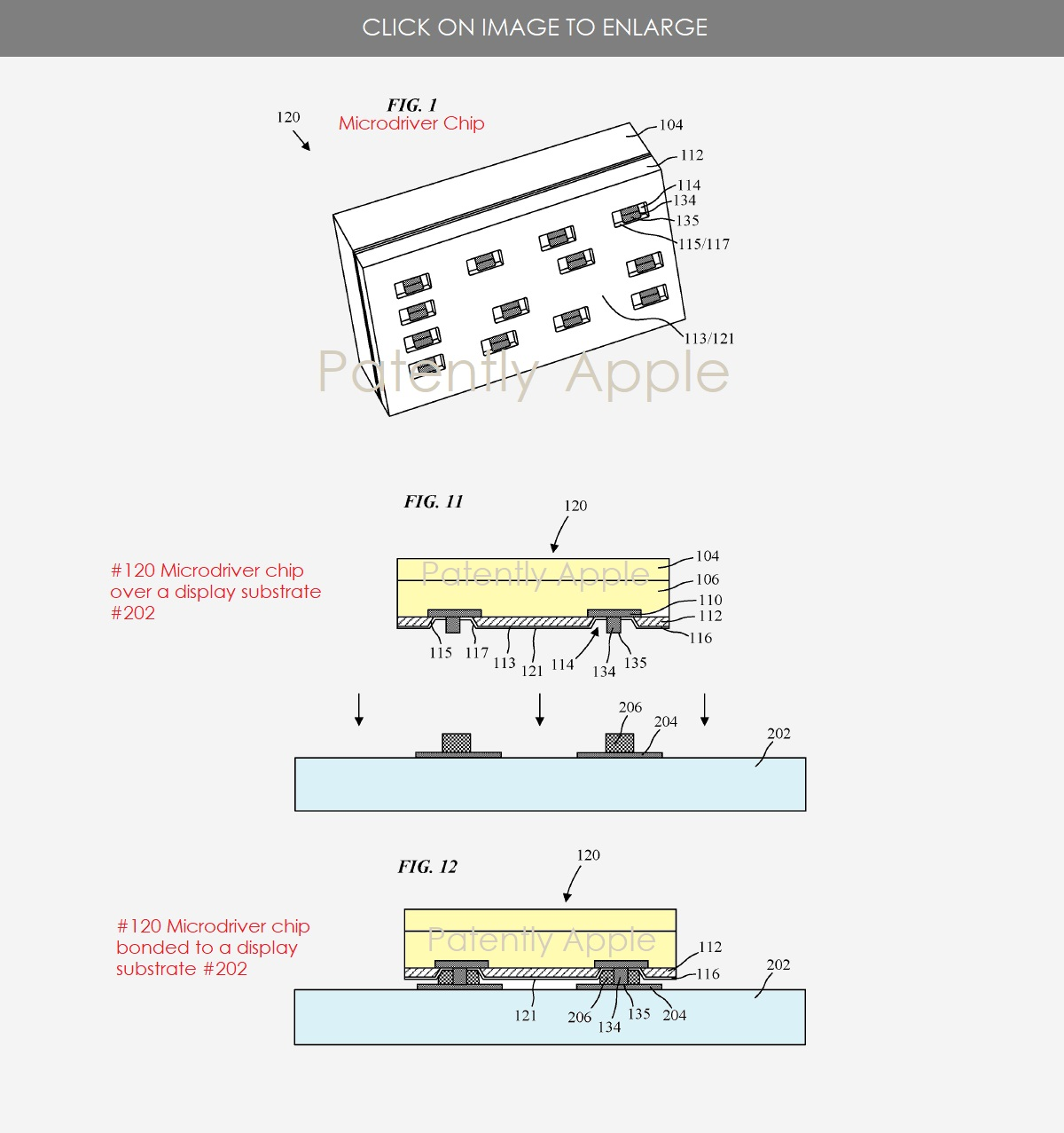 A new Micro-LED Patent Application from Apple was published