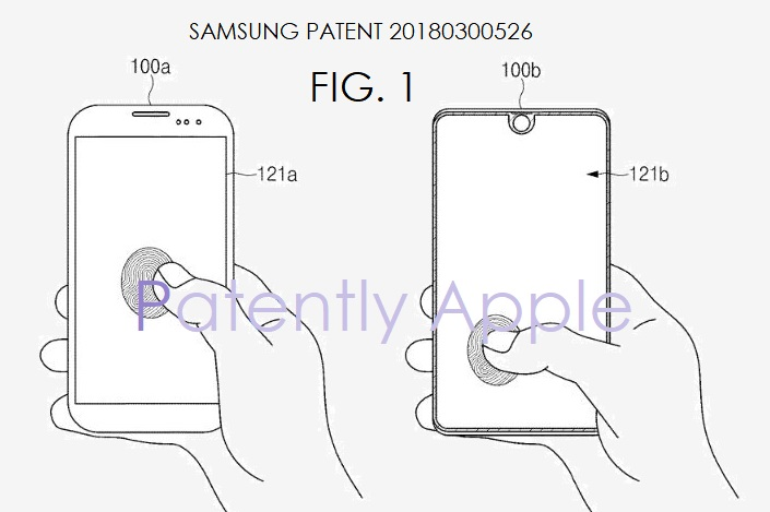 1 Extra Samsung touch id under display