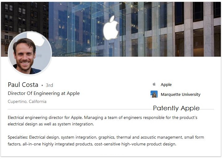 2 apple engineer Paul Costa