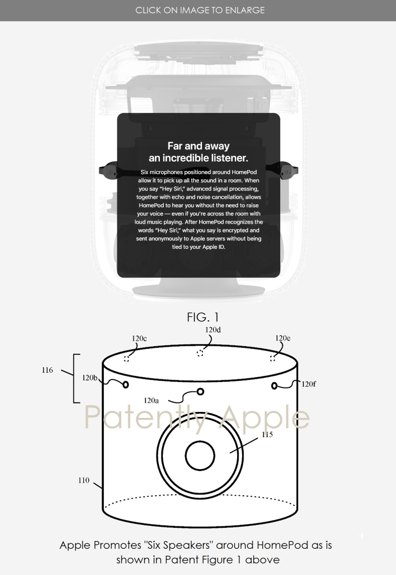 2 X HomePod Patent  Granted to apple in June 2018