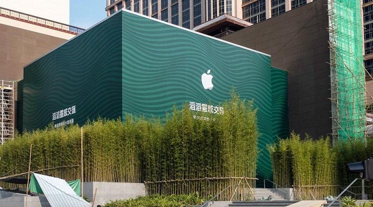 1 X COVER apple store macau opening soon
