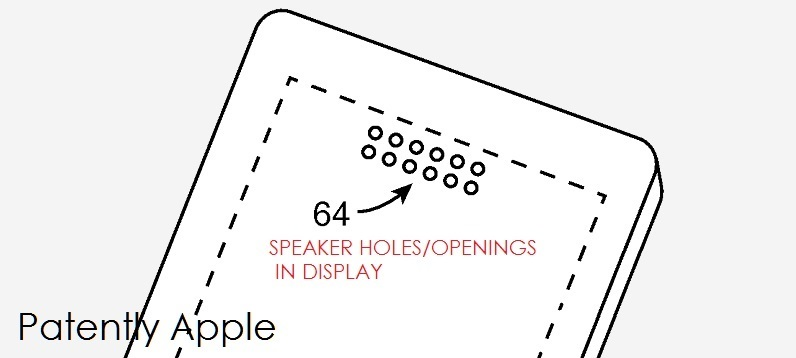 apple won 53 patents today covering a display that allows sound to iphone 4s diagram 1 x cover iphone display acoustic display