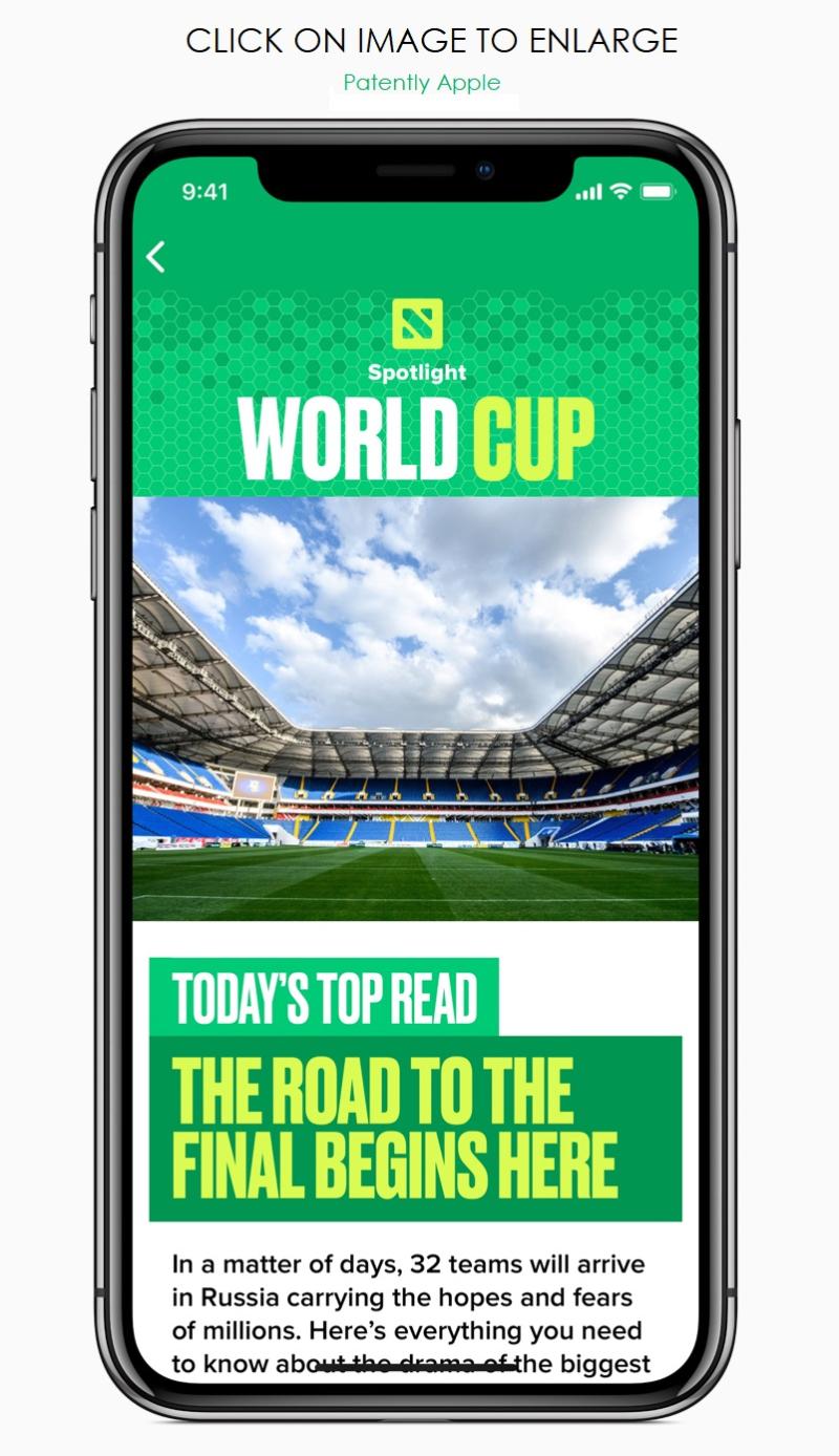 4 iPhone-X-World-Cup-News-App-screen