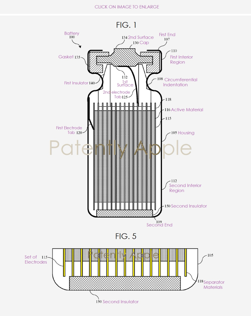 2 X new battery design by Apple Inc  patent application published in Europe Nov 8  2018 - Patently Apple report