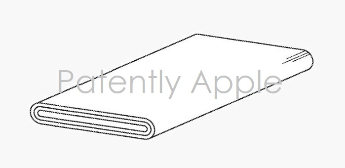 1 Final Cover - Wraparound display patent figure - patently apple report