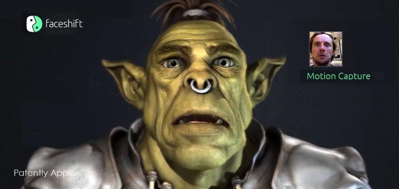 2 Faceshift realtime facial motion