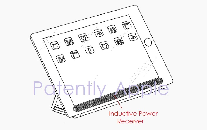 1 Cover Granted patents June 26  2018 - smart cover for iPad with inductive charging patently apple