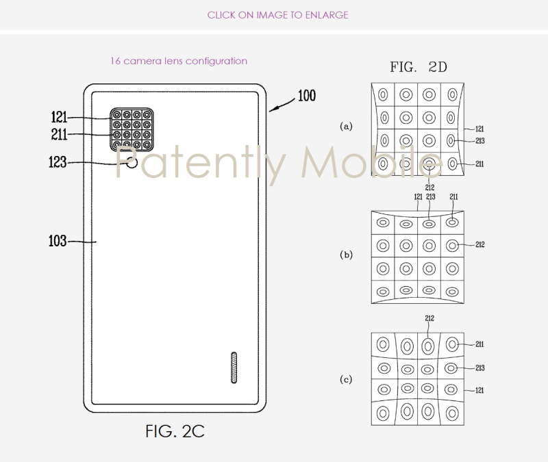 3 LG PATENT FOR 16 LENS CAMERA SYSTEM FOR FUTURE SMARTPHONE