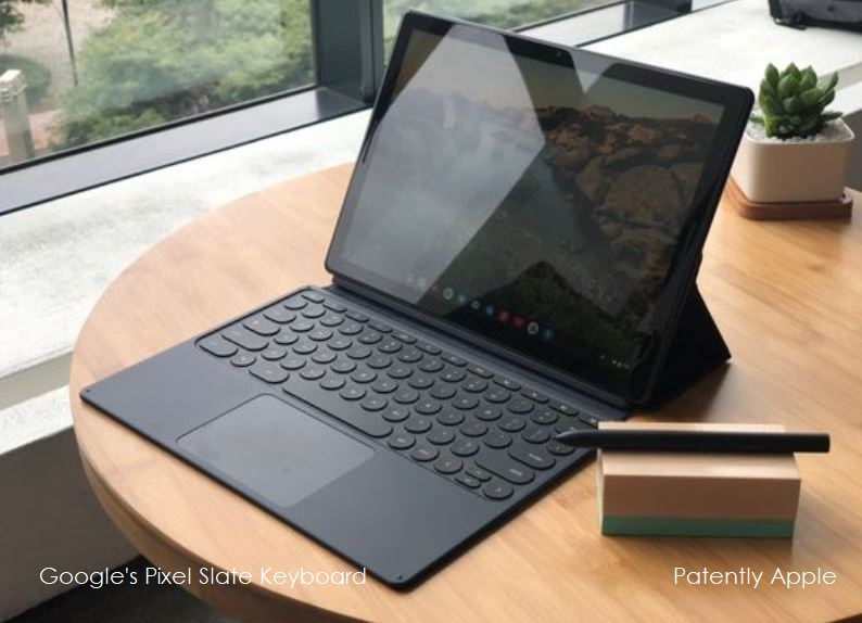 1 Extra Pixel Slate Keyboard with trackpad