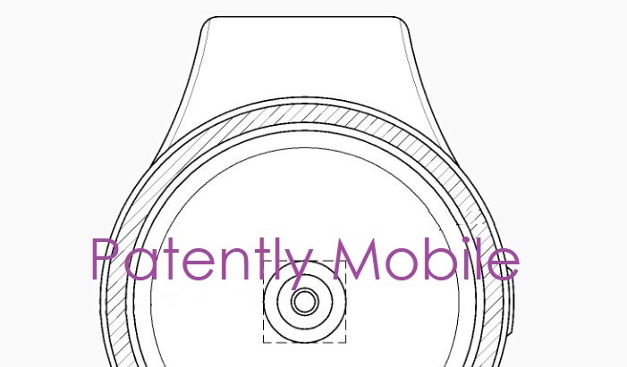 1 X -  cover samsung patent report under display fingerprint scanner