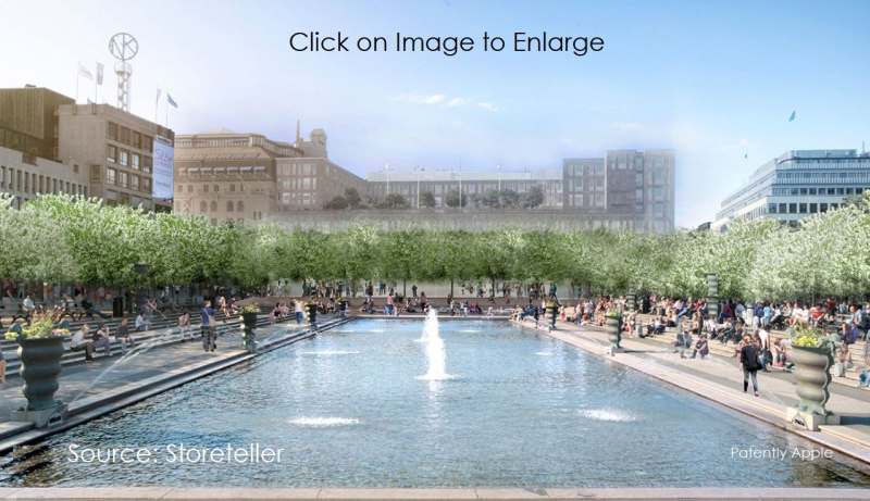 1 cover   apple store proposed in royal garden sweden