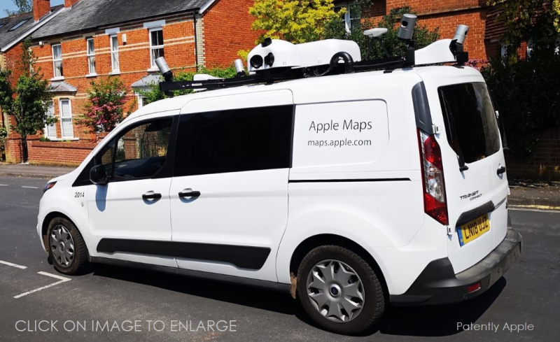 1 X Cover apple maps truck