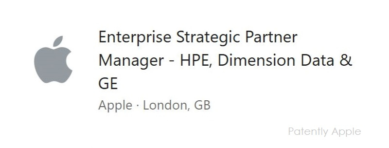 2 X Apple ad in UK for the enterprise including HPE