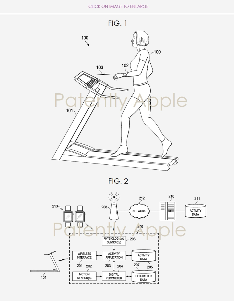2 Apple patent for exercise with Apple Watch and gym equipment  dec 6  2018