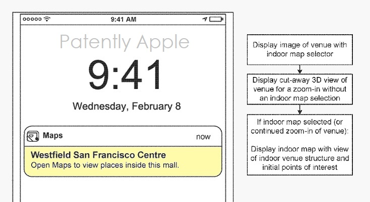Apple Continues their Work on an Indoor Mall Directory App ... on real estate app, employment app, mall maps windows phone 8,