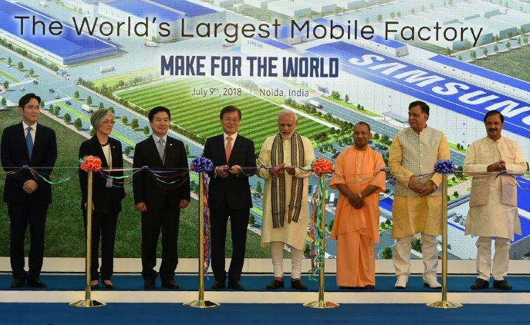 2 samsung India plant opening