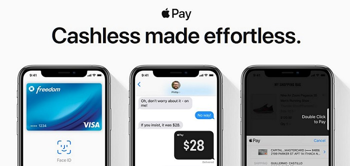 1 X cover Apple Pay