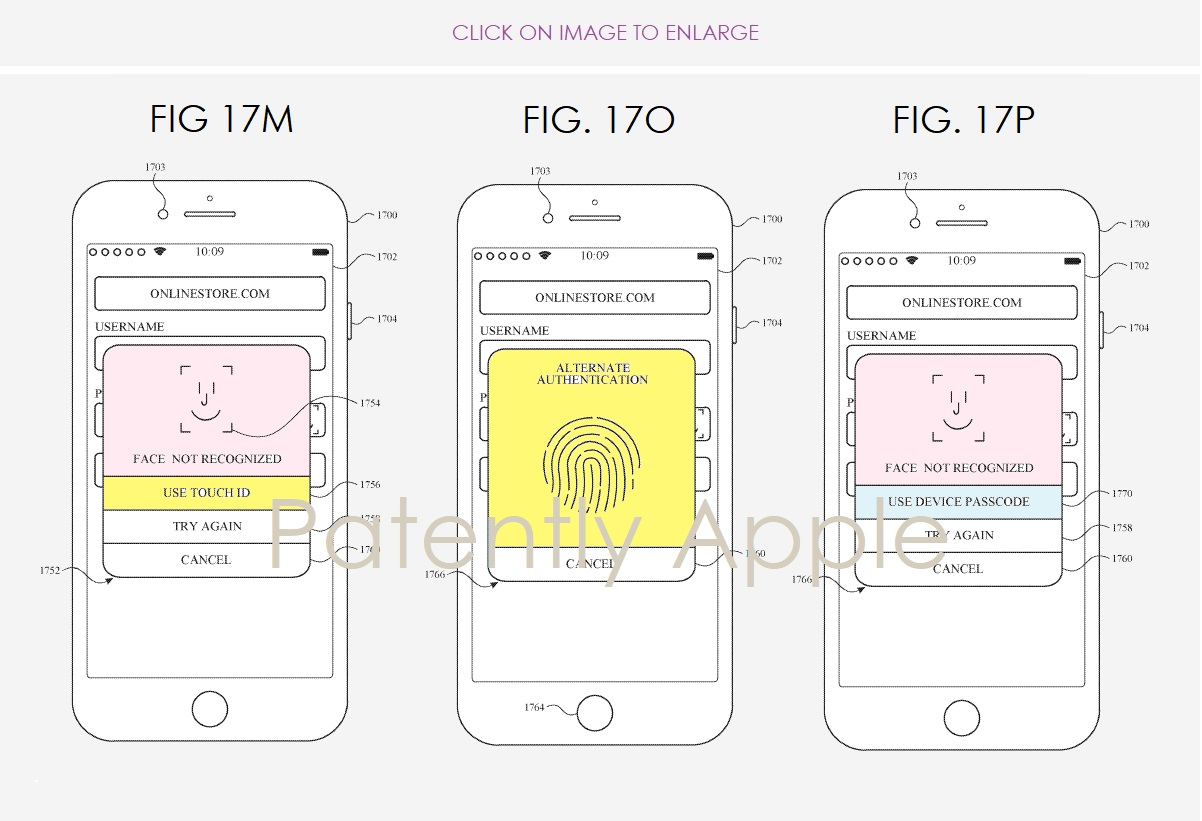 A Monstrous Apple Patent on all-things Face ID Surfaced in Europe