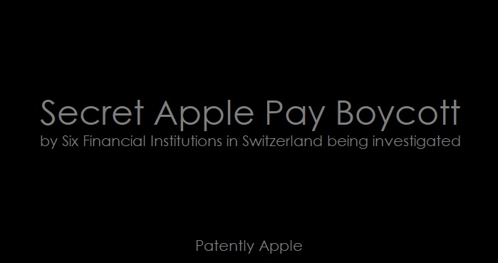 1 Cover - Secret Apple Pay boycott being investigated