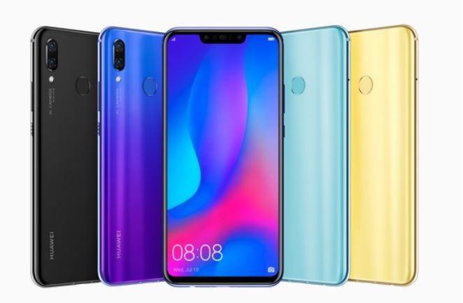 Huawei's new Nova 3 smartphones release this week July 20  2018